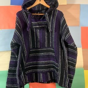 Rag Hoodie Knit jacket size XL